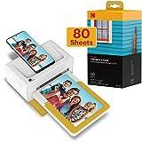 Kodak Dock Plus Instant Photo Printer – Bluetooth Portable Photo Printer Full Color Printing –...