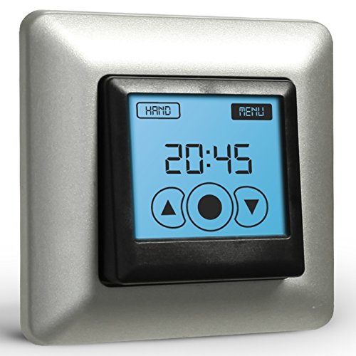 Rolladen Zeitschaltuhr Vestamatic Touch Control Nero