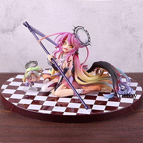 Romantic-Z Anime No Game No Life Zero 1/7 Scale Figur Jibril Great War Ver. Null Action Figure PVC Sammlermodell Spielzeug