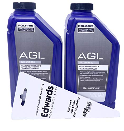 Polaris Premium Synthetic AGL Gear Lube 32 oz / 2pack