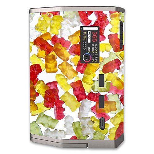 MightySkins Skin Compatible with Sigelei SnowWolf 365 Kit – Gummy Bears | Protective, Durable, and Unique Vinyl Decal wrap Cover | Easy to Apply, Remove, and Change Styles | Made in The USA