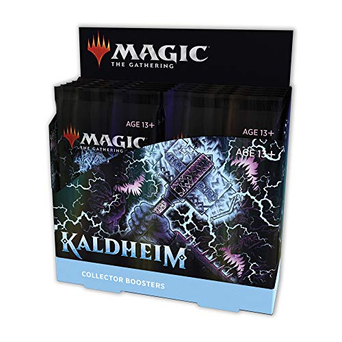 Magic The Gathering Kaldheim Collector Booster Box | 12 Packs (180 Magic Cards)