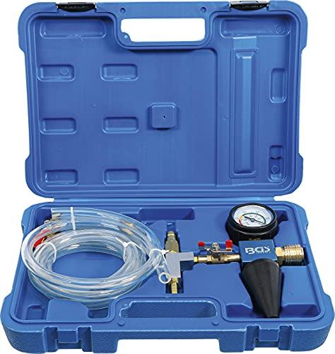 BGS 1773 | Kühlsystem-Befüll- und Entlüftungsgerät | 6-tlg. | Entlüfter | Kühler | Tester | Motorkühlsystem