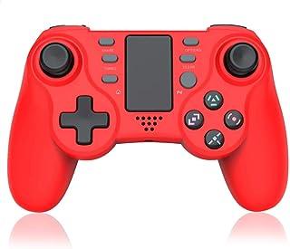 [2020最新版] PS4 コントローラー YiOne 連射 無線 Bluetooth 振動 ゲームパット搭載 高耐久ボタン イヤホンジャック スピーカー重力感応 6軸機能 イヤホンジャック ジャイロスコープ DUALSHOCK 4代用 PS4...