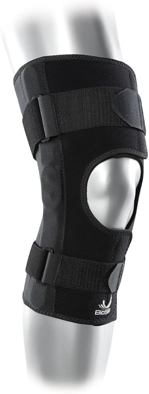 Hinged Knee Skin Front Closure Braceby BioSkin (XXLarge)