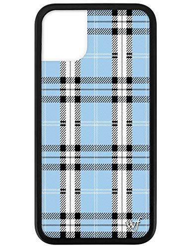 Wildflower Limited Edition Cases Compatible with iPhone 11 (Blue Plaid)