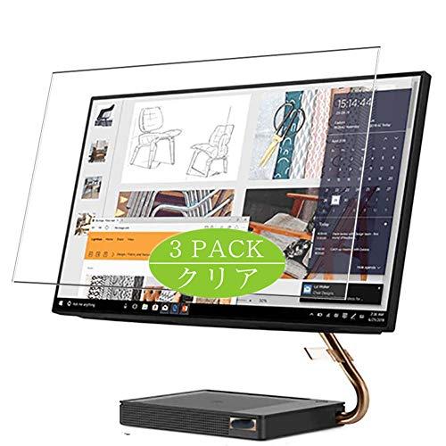 VacFun 3 Piezas HD Claro Protector de Pantalla Compatible con Lenovo ideacentre a540 AIO 27' All IN One, Screen Protector Sin Burbujas Película Protectora (Not Cristal Templado) New Version
