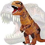 JASHKE Costume Gonfiabile Dinosauro Costumi Trex di Natale Halloween Carnevale Vestito Operato per Adulto