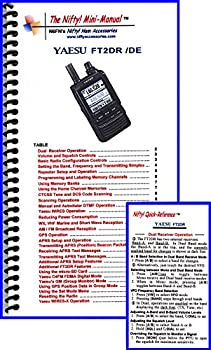 Yaesu FT2DR Mini-Manual and Card Combo by Nifty Accessories
