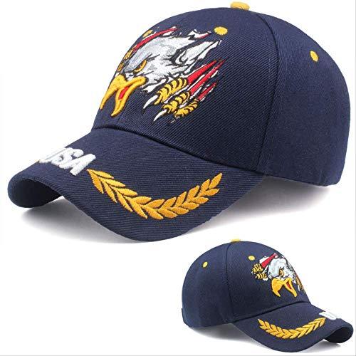 QQYZ Gorra De Béisbol Águila Gorra Sombrero De Sol Ajustable Eagle Paw Stibetan