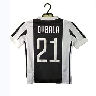Mohuai ShouJI #21 Juventus 2016-2017 Kids/Youths Home Soccer Jersey & Shorts
