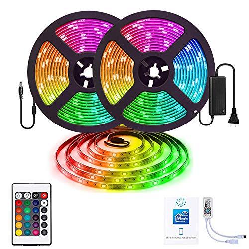 Flexibler LED-Küchenschrank beleuchtet Schlafzimmer-Bett beleuchtet Garderobe-Treppe Fernsehhintergrund-Wand @ RGB