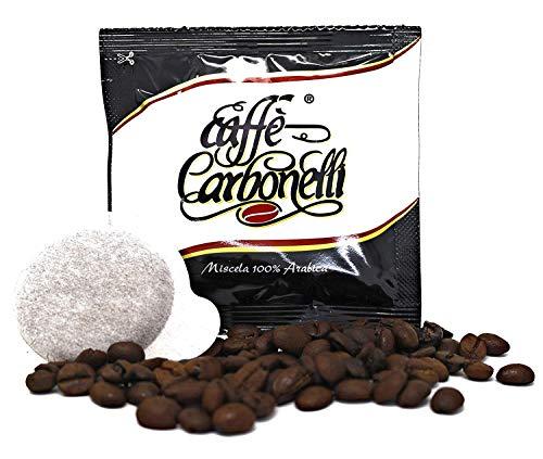 150Kaffeepads ESE Caffè Carbonelli Mischung Mischung 100% Arabica - Neapolitanischer Espressokaffee