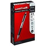 uni-ball 207 Impact Retractable Gel Pens, Bold Point (1.0mm), Black, 12 Count