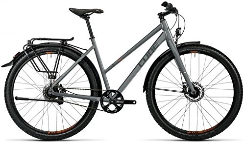 Cube Travel Pro 29R Trekking Bike 2016 (grey black spicy orange, 29