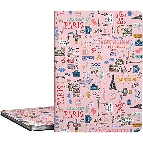 Grafoplás 1332425. Carpetas de 30 Fundas, A4, Transparentes, Cubiertas Polipropileno, Colección Epluche, Modelo Paris
