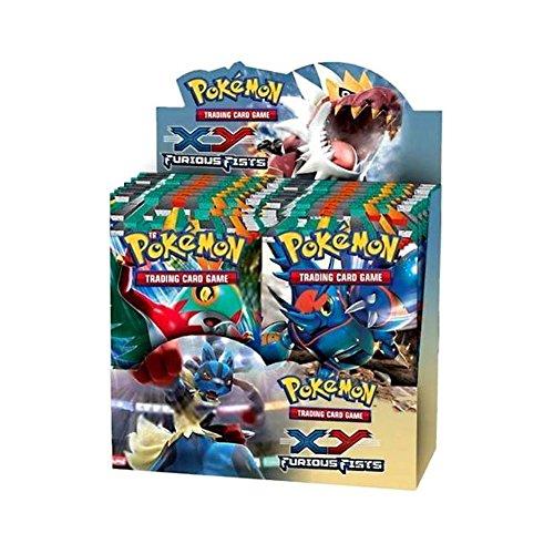 Pokemon Furious Fists (XY3) Booster BOX [36 Packs]