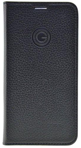 MiKE GALELi Istanbul MARCA517-01 Marc hochwertige Handytasche aus Rindsleder für Samsung Galaxy A5 (2017) schwarz