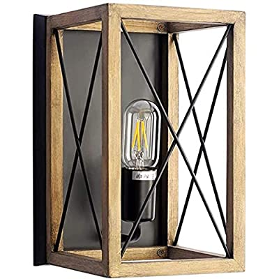 Amazon - Save 50%: ALINhome Industrial 1-Light Wall Sconce Lighting, Rustic Vintage…