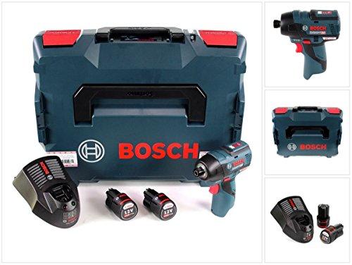 Bosch, 0 601 9E0 005, elektrischer Schraubendreher, schwarz, blau, 3100 RPM