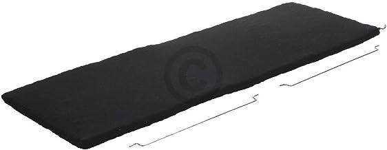 DL-pro Filtro de carbón para microondas Bauknecht 481248048182 tipo KF4000 Indesit C00345813 Küppersbusch 534595