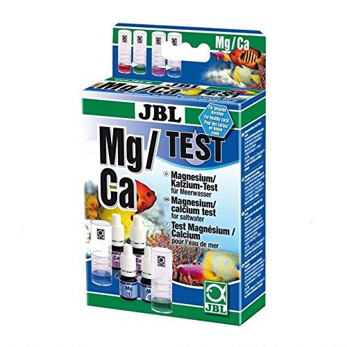 JBL Schnellstest zur Bestimmung des Magnesium-/Kalziumgehalts in Meerwasser Aquarien, Magnesium/Kalzium Test, 25402