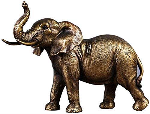 IUYJVR Statue Elephant Decorations for Home, Lucky Feng...