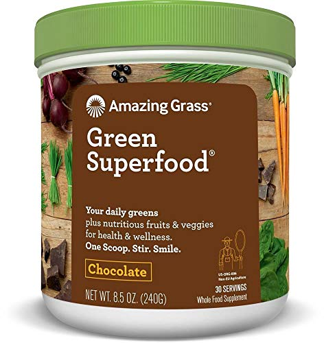 Amazing Grass | Amazing Grass Green Superfood Chocolate 240g...
