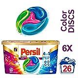 Persil 4in1 DISCS Color, Waschmittel, kombinieren Waschleistung mit Faserpflege, 156 (6 x 26)...