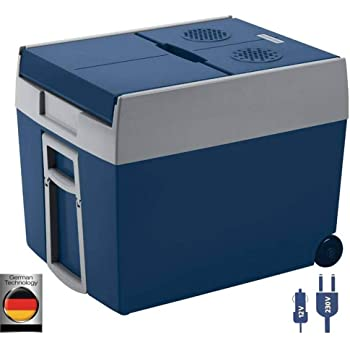 GIOEVO Mini Frigorifero Portatile per Auto 40L con Schermo LCD Digitale Congelatore per Frigorifero Portatile 220V