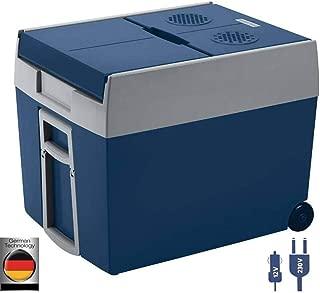 Mobicool W48  -  Nevera termoeléctrica portátil, conexiones 12 / 230 V,  Azul metálico, 48 Litros