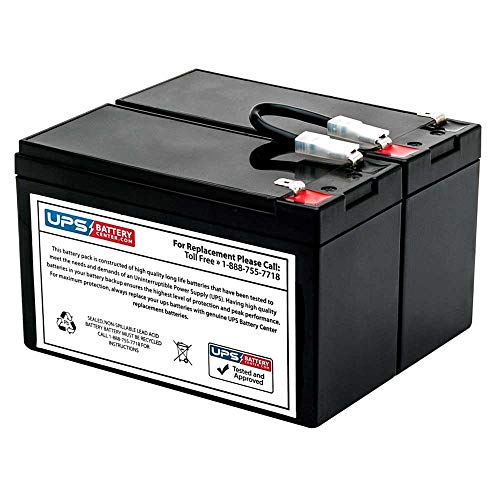 APC Back-UPS XS 1300 BX1300LCD Compatible Replacement Battery Pack -...