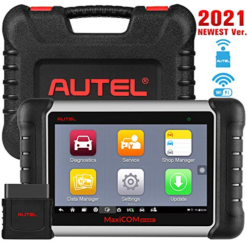Autel MaxiCOM MK808BT Car Diagnostic Scan Tool 2021 Newest Upgraded Ver of MK808 MX808 All Systems Diagnosis amp 25 Services ABS Bleed Oil Reset EPB SAS DPF BMS Throttle Injector Coding