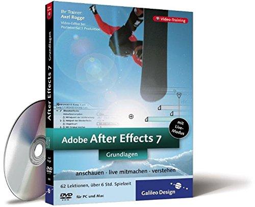 Adobe After Effects 7 - Die Grundlagen - Video-Training auf DVD