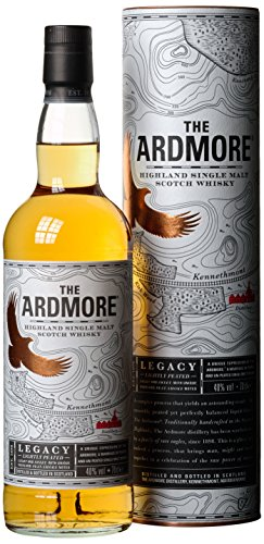 The Ardmore Legacy Highland Single Malt Scotch Whisky, mit Geschenkverpackung, 40% Vol, 1 x 0,7l
