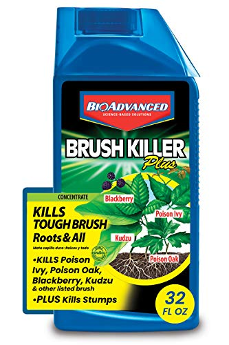 BioAdvanced 704640B 704640 Brush Killer, 32-Ounce, Concentrate