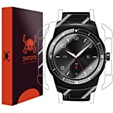 Skinomi Full Body Skin Protector Compatible with LG G Watch R (Screen Protector + Back Cover) TechSkin Full Coverage Clear HD Film