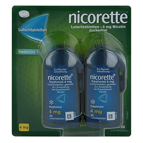 Nicorette freshmint 4mg g 80 stk