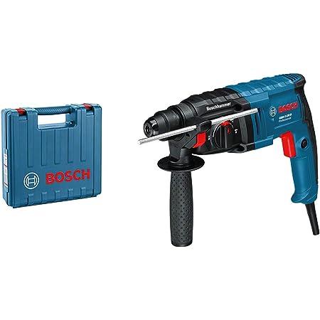 Bosch Professional 061125A400 Martello Perforatore GBH 2-20 D, Ø Foro nel Calcestruzzo: 20 mm, SDS Plus, Confezione in Cartone, W, 240 V, Blu, 650 Watt
