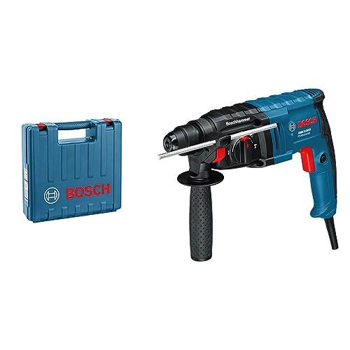 Bosch Professional GBH 2-20 D Martillo perforador, perforación Ø concreto máximo 20 mm, SDS-plus, en maletin 650 W, 240 V, azúl