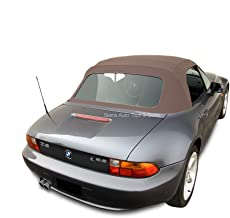 Sierra Auto Tops Convertible Soft Top Replacement, compatible with BMW Z3 1996-2002, w/Plastic Window, TwillFast II Cloth,...