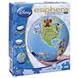 Esphera 360 9' 540 Pieces Amazing 3D Plastic Puzzle Ball Globe 'World of Disney' by Mega Brands
