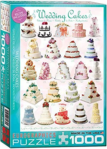 Eurographics Wedding Cakes 1000-Piece Puzzle by EuroGraphics