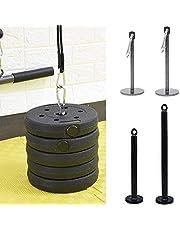 FreshWater Staal Gewicht Plaat Laden Pin Staal Workout Gewichten Hijshouder Stand Rack Katrol Kabel Machine Systeem Gewichten Stand