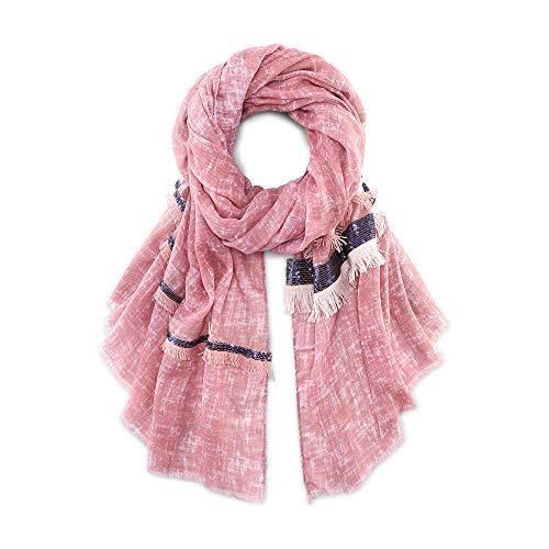 Cox Erwachsene (Unisex) Trend-Schal Rosa 1