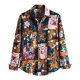 Herrenhemd Langarmhemd, Mode Bedruckte Hemden Herren Langarmhemden Button Down Freizeithemd Mode Top Bluse Pullover Hoodie Sweatshirt Shirt Tops Bluse