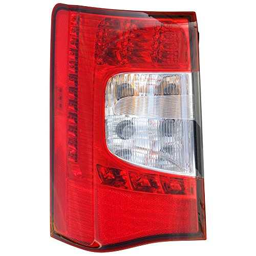 Epic Lighting OE Fitment Replacement Rear Brake Tail Light Assembly Compatible with 2011-2016 Town & Country [CH2800198 5182531AD] Left Driver Side LH
