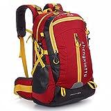 Jtoony - Mochila de montañismo para camping, ocio, viaje de nailon al caminar, camping, viajes, etc., multifuncional, apto para uso al aire libre, mochila deportiva al aire libre