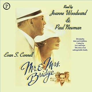 Mr. and Mrs. Bridge audiobook cover art