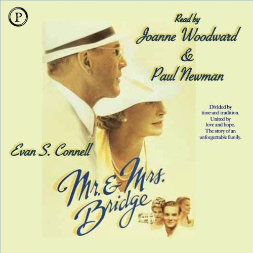 Mr. and Mrs. Bridge audiobook cover art